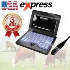 Ordinateur portable Echographe vétérinaire Rectal Linear Probe COW / Cheval, CE