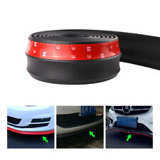 2.5M Car Rubber Lip Skirt Protector Front Bumper Spoiler Side Splitter Universal