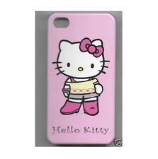 COQUE RIGIDE  Iphone 4 Hello Kitty  Rose  IPHONE 4/4S  NEUF