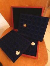 Coffret numismatique en bois pour 48 muselets de champagne PROMO réf 340699.
