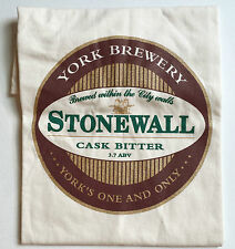 NEW York Brewery men's off white Stonewall cask bitter cotton  t-shirt size L