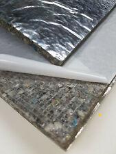 Verbundschaum Aluminiumfolie SELBSTKLEBEND Dämmung Akustik flammhemmend 100X50