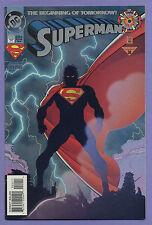 Superman #0 1994 Zero Hour Dan Jurgens Brett Breeding DC k/D