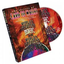 CARD TO WALLET WORLD'S GREATEST MAGIC BY L&L PUBLISHING DVD - MAGIC TRICKS