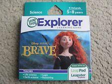 Leapfrog Explorer Disney Pixar BRAVE Game works LeapPad & Leapster Explorer