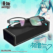 hatsune miku japanese Anime Costume Glasses Cosplay Prop