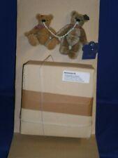 "Vintage Annette Funicello Spaghetti & Meatballs Mini Bears w/Bowl 2003 W.COA 4½"""