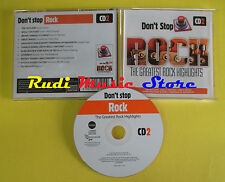 CD DON'T STOP ROCK CD 2 compilation 2013 OUTLAWS MOLLY HATCHET (C5) no mc lp dvd