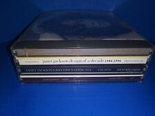 LOT OF 4 JANET JACKSON CD'S - A475 - SELF TITLED DESIGN OF A DECADE AGAIN ETC
