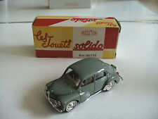 Solido Renault 4 CV in Grey on 1:43 in Box