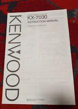 "Kenwood KX-730 Stereo Receiver ""Original"" Owners Manual kx730"