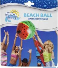 """Watermelon Beach Ball Inflatable Summer Time Pool Party Water Toy 16"""""""