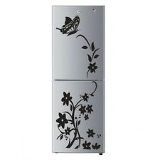 Removable Waterproof Butterfly Flower Vine Fridge Decal Wall Sticker Home Decor