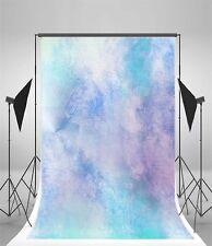 5x7ft Dreamlike Gradient Blue Photography Backgrounds Vinyl Photo Backdrop Props