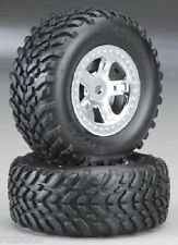 Traxxas Front or Rear Assembled Tire SCT 1/16 1/18 Off Road  (2) TRA7073
