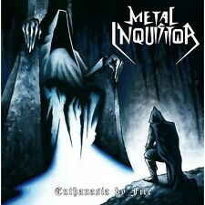 """METAL INQUISITOR - Euthanasia by Fire 7"""" (NEW*LIM.BLACK VINYL*KIT LIVE)"""