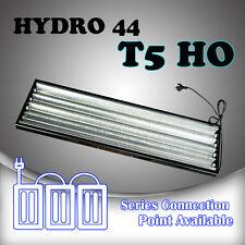 2pcs Hydroponics T5 HYDRO 44 c/w 4FT 4x 6500k Propagation Grow Light