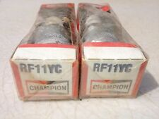 Ford, many models, Champion Spark plugs,RF11YC, lot of 8. Item 0949, and 8126
