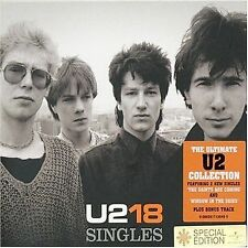 U218 Singles [UK Bonus Track] by U2 (CD, Nov-2006, UMVD)