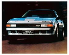 1984 Toyota Celica Supra Automobile Photo Poster zc8740