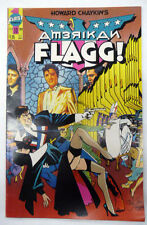 howard chaykin's american flagg ! 10 first comics