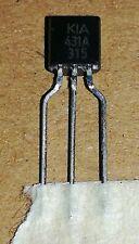 TL431BQLPR IC VREF SHUNT PREC J TO-92-3 431 TL431 5PCS