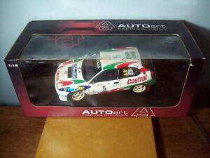 1/18 AUTOART TOYOTA COROLLA  WRC 1998 RUNNERS UP CARLOS SAINZ/LUIS MOYA