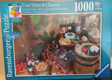 Ravensburger Perplexing Puzzles No.10 Fine Wine & Cheese, 1000pc Jigsaw Puzzle