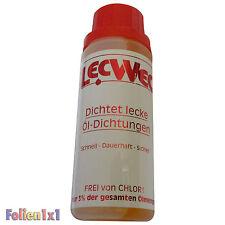 LecWec 100 ml Dichtmittel für Lecks bei Öldichtungen aller Ölsysteme aus Metall