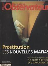 Le Nouvel Observateur   N°1854   18 Mai 2000: Prostitutions