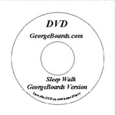 GeorgeBoards Lap Steel Guitar DVD Sleepwalk lesson C6th tuning new with tracks