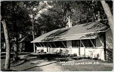 RPPC  PELICAN RAPIDS, Minnesota  MN   Roadside  OAK LODGE  1951  Postcard