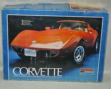 Monogram 1/8 Scale plastic model kit 2603  CORVETTE  Indy 500 pace car 1978