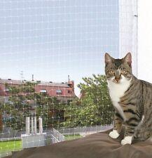 Trixie Outdoor Protective Net Cat Flaps Mesh Size, 4 x 3 m, Transparent