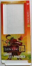 """EMPTY DVD MOVIE LONGBOX –""""LION KING 1 1/2"""" – LONG BOX ONLY- NO DVD OR CASE"""