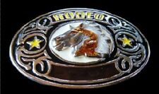 Western Wild Horses Southern Rodeo Cowboys Belt Buckle Boucle de Ceinture