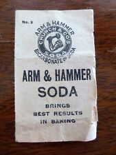 Early 1900s Arm & Hammer Baking Soda Boston Brown Bread Recipe Foldout Booklet