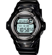 Casio Baby-G Womens Wrist Watch BG169R-1 BG169R-1CR Digital Whale Black New