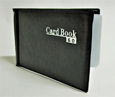 Visitenkartenbuch Visitenkarten Organizer mit 72 Einschüben für 72//144 Karten