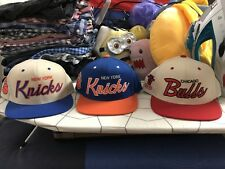 Mitchell And Ness NBA Set Of Three Snapback Hats