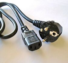 EU AC Power Cord for Printer/TV/Monitor/Sony Playstation PS3, XBOX 360 Console