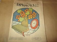 les dimanches de la femme 240 ...1926