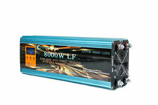 "32000W/8000W+3.5""LCD LF Split Phase PSW Power Inverter 12V DC/110V,220V AC 60Hz"