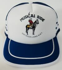 Musical Ride Truckers Hat Equestrian Canadian Mounted Police Hay River Lions
