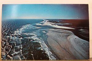 South Carolina SC Pawley's Island Midway Inlet Aerial Litchfield Beach Postcard
