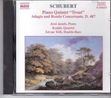 (FD893) Schubert: Trout Quintet, Adagio & Rondo Concertante - 1992 CD
