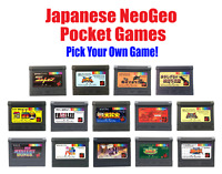 Japanese Neo-Geo Pocket Color Cartridge Collection PICK YOUR OWN GAME!