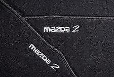Genuine Mazda 2 front and Rear Mats 2007-2013