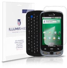 iLLumiShield Phone Screen Protector w Anti-Bubble/Print 3x for Samsung Moment