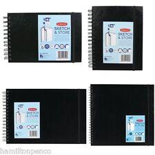 DERWENT SKETCH & STORE HARDBACK SKETCHBOOK - 4 sizes available
